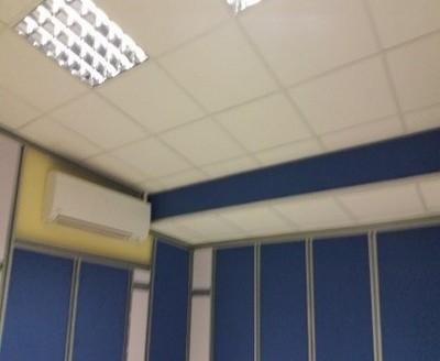 falso techo, iluminacion acustica cab tec radio
