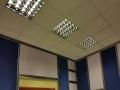 falso techo, iluminacion acustica 3 cab tv